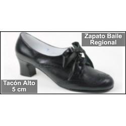 Zapato para Baile Traje Regional Tacón Alto
