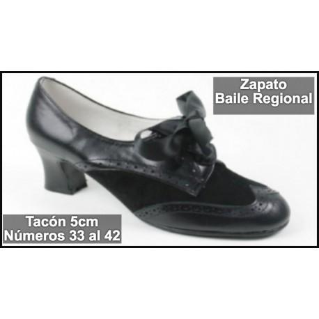 Zapato Tacón para Traje Regional