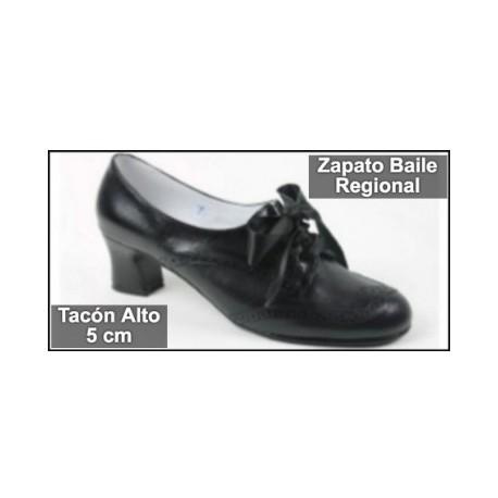 Zapato Traje Regional Tacón Alto
