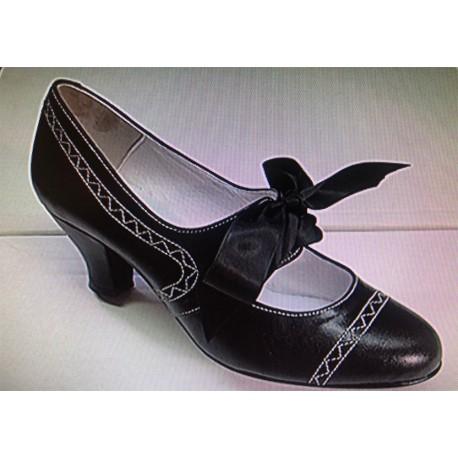 Zapato Baile Regional Mujer Tacón 6cm